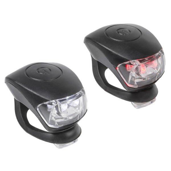 Zestaw Lampek Rowerowych Rowery I Akcesoria Oświetlenie